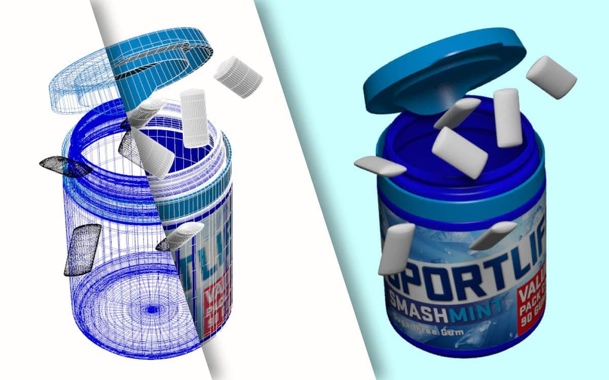 Sportlife 3D Visualisatie