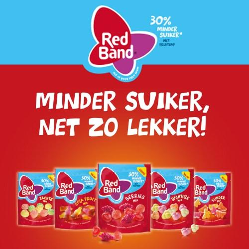 Case Red Band 30% minder suiker - Case beeld